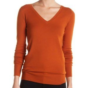 Abound Knit V-Neck Sweater Size XXS